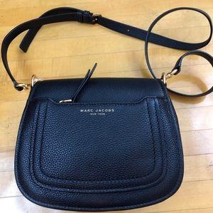 Marc Jacobs Black Leather Crossbody Bag NWT